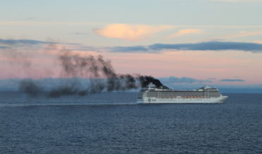 As sea ice dwindles, new waterways open up. The waters in the Arctic is rapidly becoming crowded with increased ship traffic that exploits these channels, and the urgency for new shipping rules is more urgent than ever to prevent oil spills. (Photo: NABU)