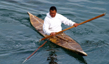 Indigenous peoples across the Arctic practice traditional ways of life closely connected to the waters on which they rely for food. (Photo: Flickr, CC)