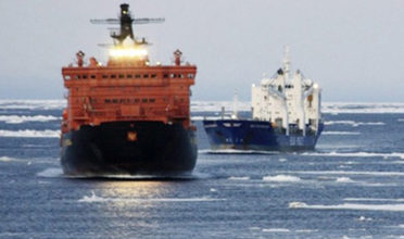 A meeting of the International Maritime Organization in London next week will hear about the impact of shipping on northern environment and communities from Indigenous leaders. (Photo: Beluga Shipping/Associated Press)