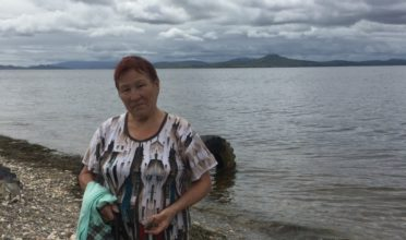Indigenous leader Valentina Boriskina fights coal mining that is devastating the lives of the Shor people in Siberia. (Photo: Pacific Environment)