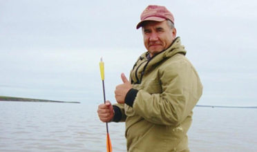 Eduard Zdor, director of the Chukotka Association of Traditional Marine Mammal Hunters, dedicates his life to protecting Arctic marine mammals sacred to the Chukotka. (Photo: Pacific Environment)