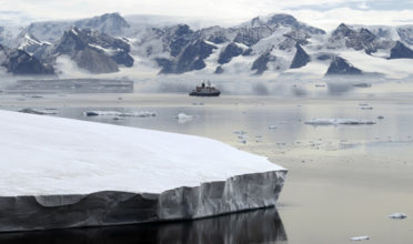 As sea ice melts, ship traffic increases, interfering with wildlife migrations and breeding and increasing the risk of a catastrophic oil spill. (Photo: IMO)